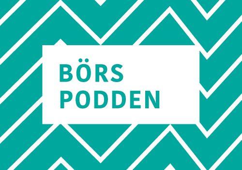 Börspoddens logotyp