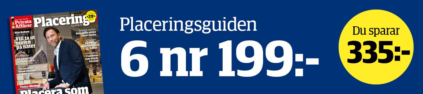 Banner för placering guiden